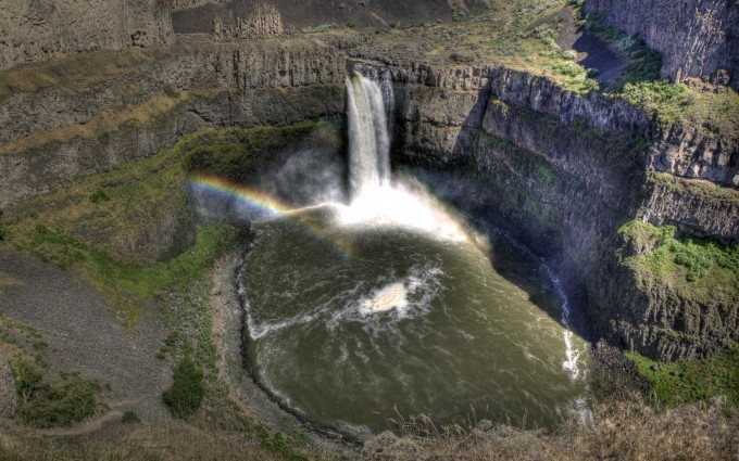 waterfalls pictures palouse