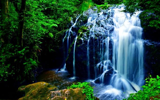 waterfalls wallpaper lovely