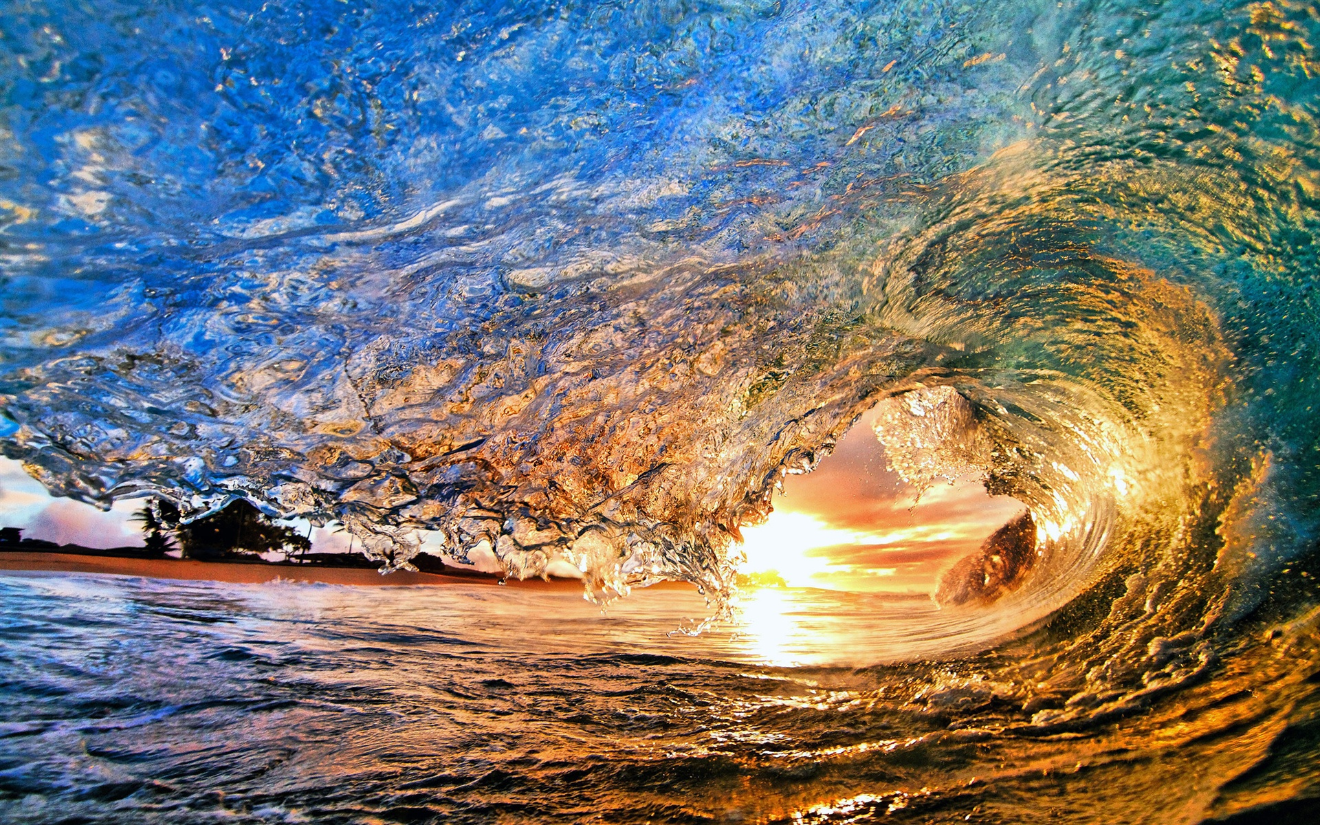 wave wallpaper background