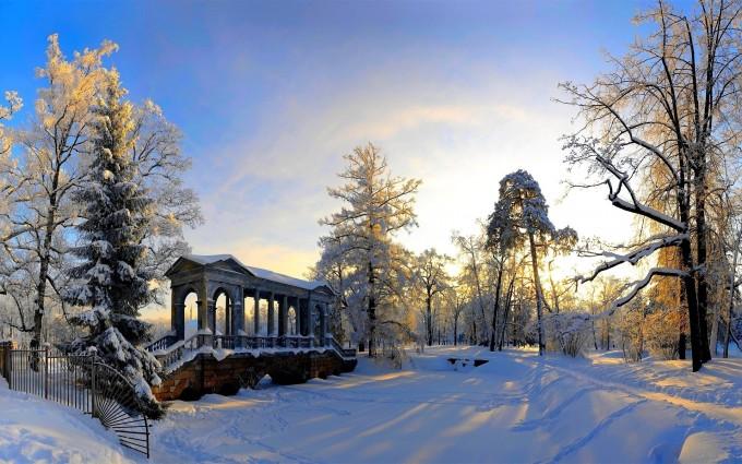 winter scenery beautiful