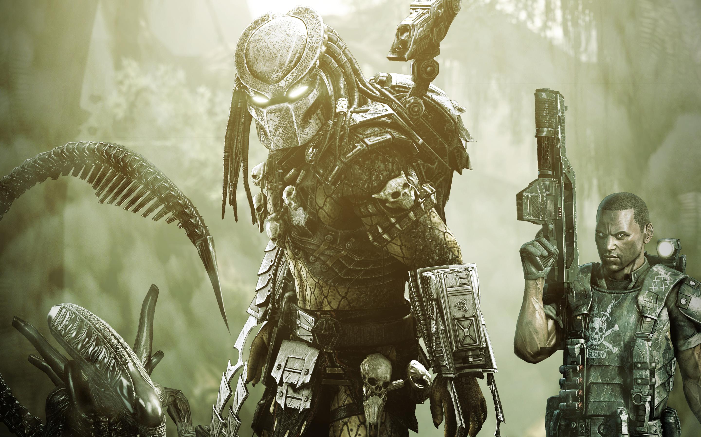 alien vs predator game wallpapers