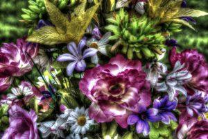 artificial flowers A1