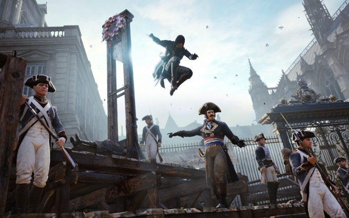 Assassins Creed Unity Hd Hd Desktop Wallpapers 4k Hd