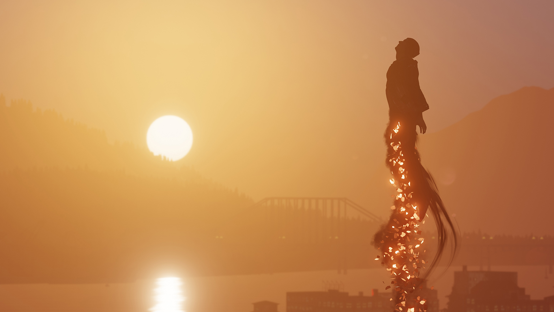 infamous second son backgrounds