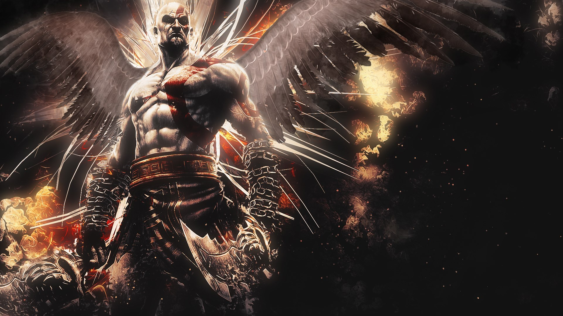 kratos cool game wallpaper