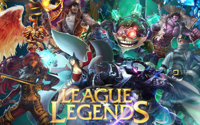 League Of Legends Backgrounds A4 Hd Desktop Wallpapers