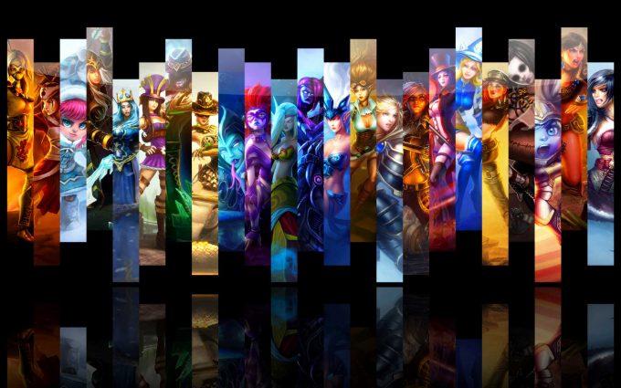 league of legends game A1