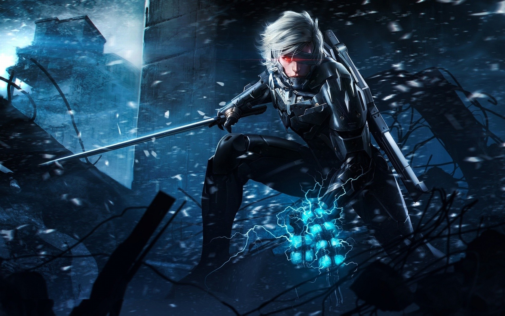metal gear rising backgrounds A4