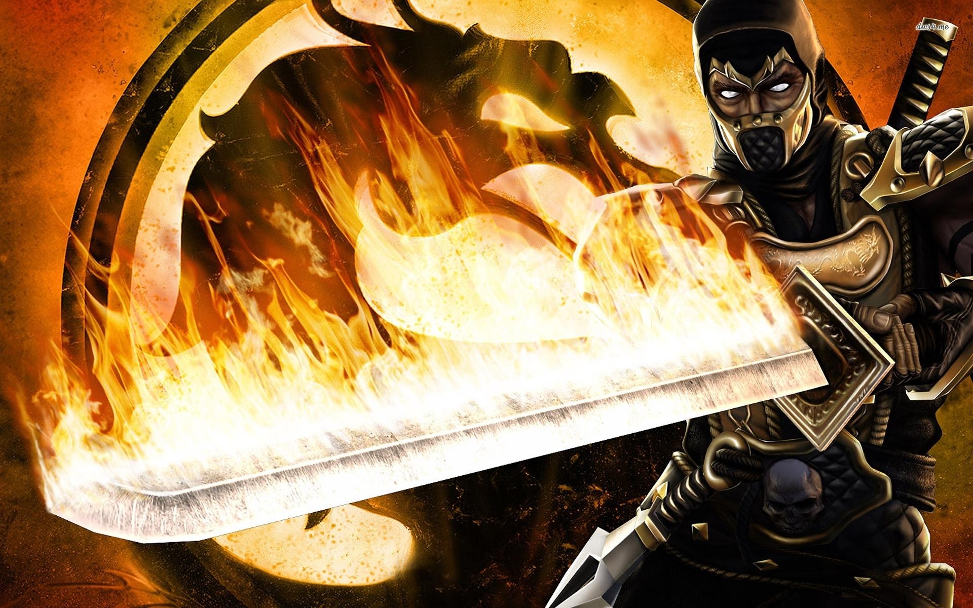 Mortal Kombat Logo A1 Hd Desktop Wallpapers 4k Hd