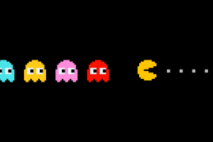 pacman game background
