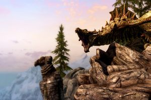 skyrim hd backgrounds